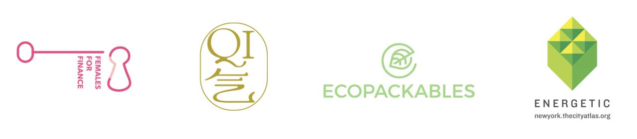 Logos of Yale Innovators' Prize finalists
