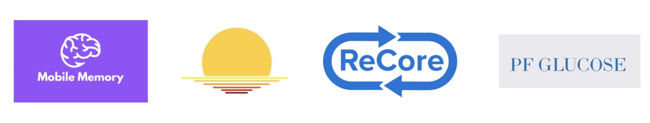 Logos of Rothberg Catalyzer Prize finalist teams
